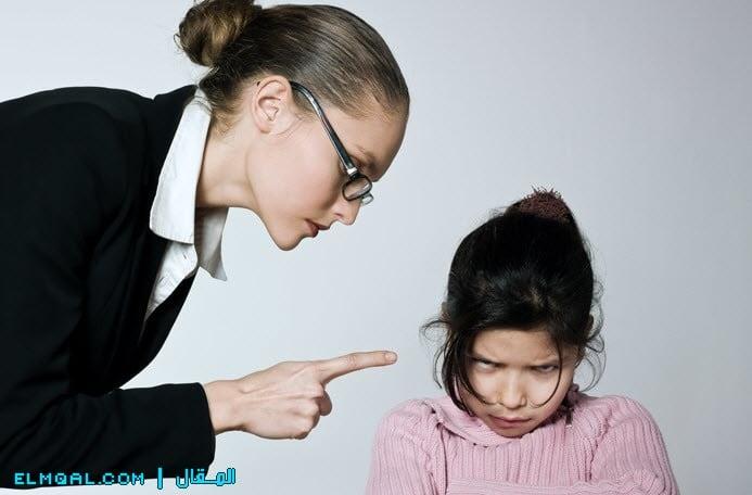 طريقة عقاب الطفل