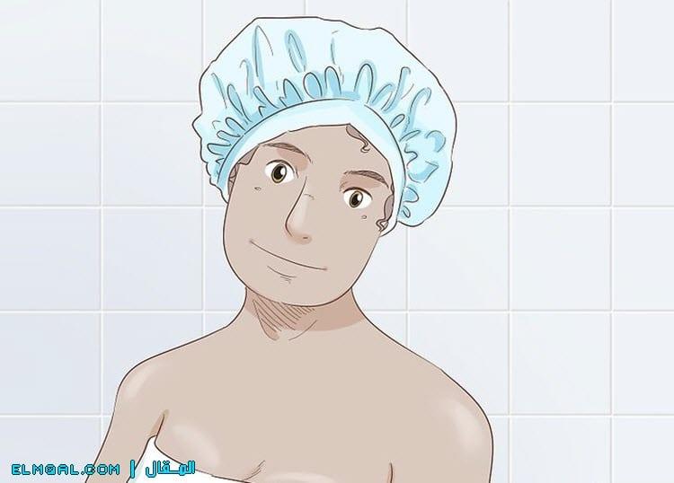 قبعة الاستحمام