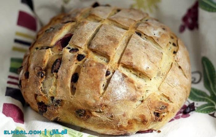 خبز الكرز بالشيكولاتة