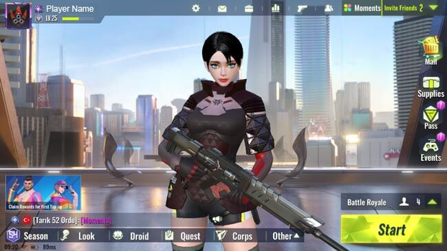 لعبة سايبر هانتر Cyber Hunter