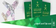 طريقة تجديد جواز السفر السعودي من منصة أبشر