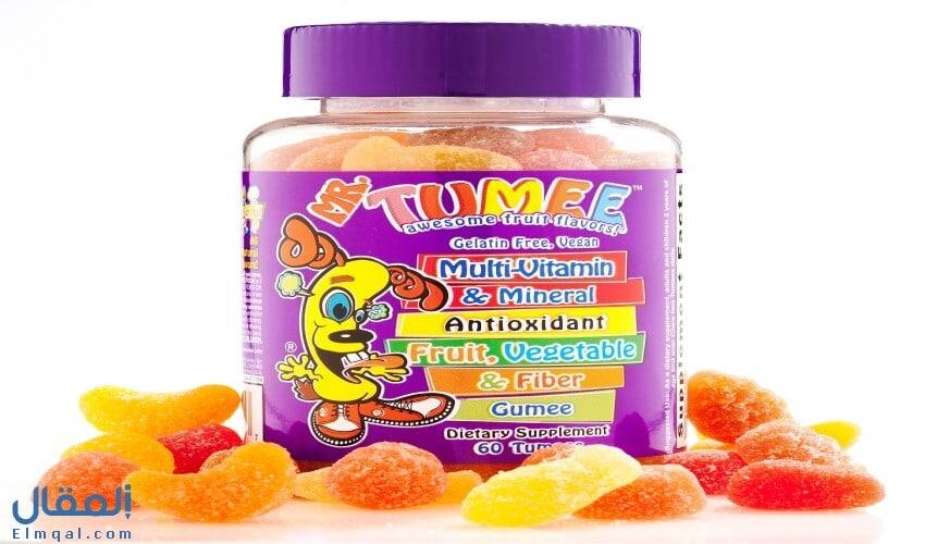 مستر تومي Mr Tumee مكمل غذائي فيتامينات ومعادن متعددة للأطفال