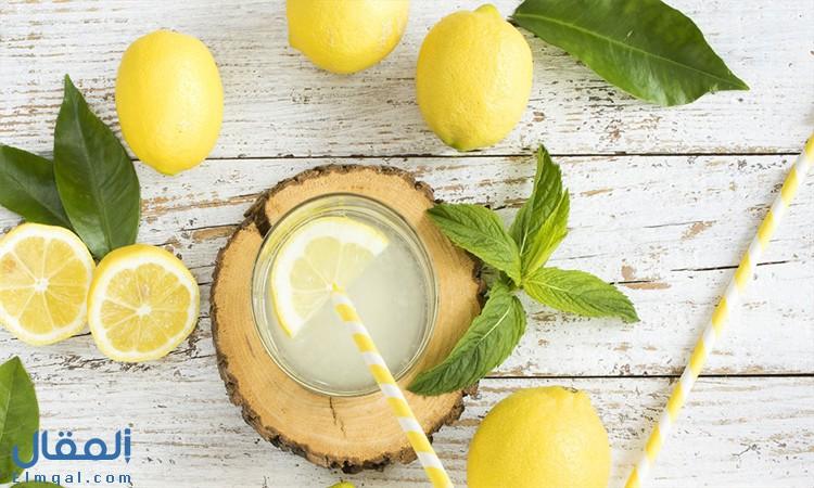 فوائد ماء الليمون