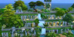 معلومات قد لا تعرفها عن حديقة بابل المعلقة