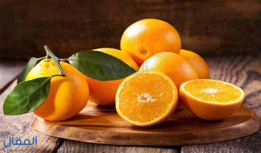 فوائد البرتقال الصحية وقيمته الغذائية