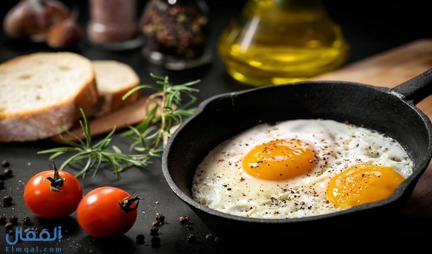 تفسير دلالة رؤية البيض المقلي في المنام