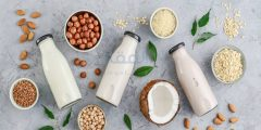 بدائل الحليب البقري الأخرى وقيمتها الغذائية