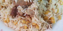 أشهى وصفة لتحضير الأرز بالحمص واللحم