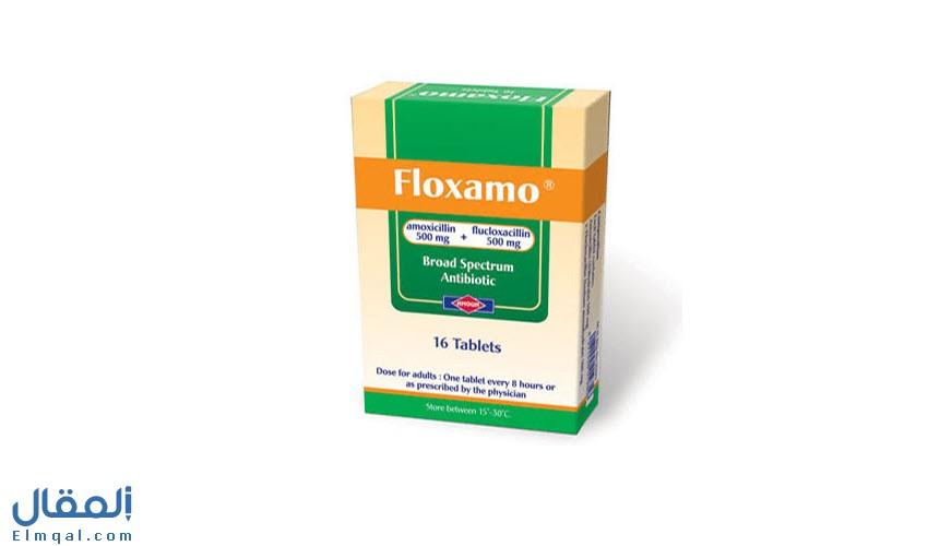 فلوكسامو مضاد حيوي  1000 Floxamo للأسنان والبرد واسع المدى