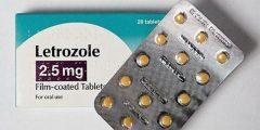 ليتروزول أقراص 2.5 Letrozole لعلاج سرطان الثدي والعقم عند النساء