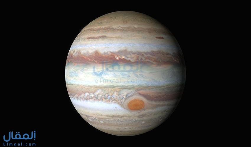 ما هي البقعة الحمراء العظيمة Great red spot (GRS) لكوكب المشتري؟