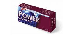 باور كولد اند فلو Power Cold & Flu أقراص مسكن وخافض للحرارة لعلاج البرد