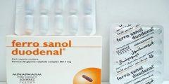 فروسانول ديودينال كبسول Ferro sanol duodenal مكمل غذائي حديد لعلاج فقر الدم