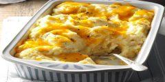 وصفتان مختلفتان لتحضير البطاطس المهروسة بالجبن