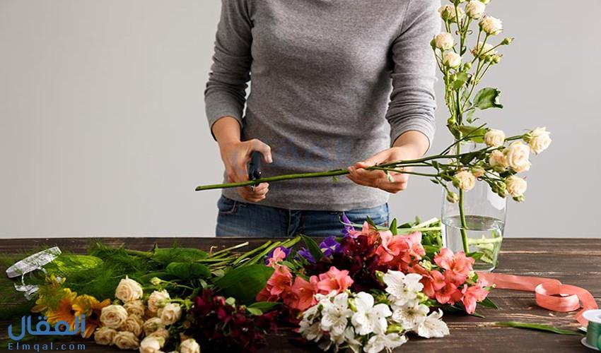 كيفية الحفاظ على بوكيه ورد طبيعي من الذبول لأطول وقت ممكن في المنزل؟