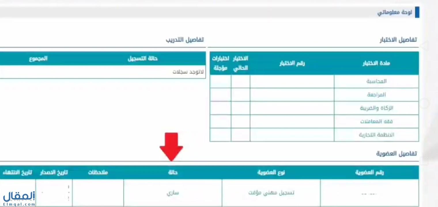 التسجيل في الهيئة السعودية للمحاسبين