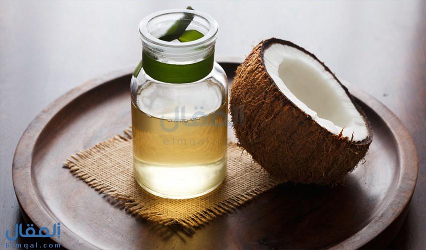 أضرار زيت جوز الهند coconut oil على الشعر